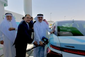 Saudi Aramco Inaugurates First Saudi Hydrogen Fueling Station