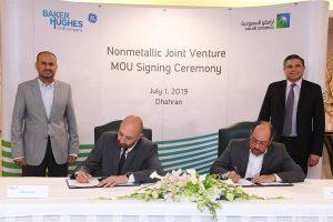 Saudi Aramco and Baker Hughes Establish Joint Venture